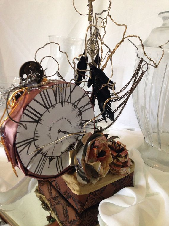 Steampunk Centerpiece By KwirkyKreations On Etsy 2500