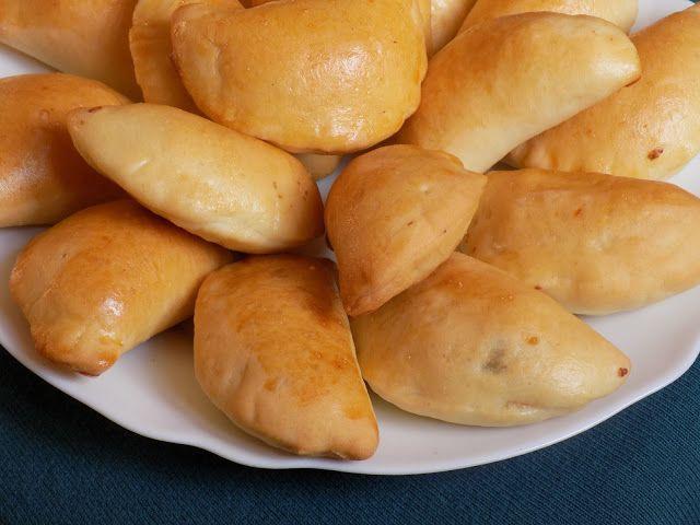 magiczna kuchnia Kasi: Pierogi drożdżowe z kaszą gryczaną i serem