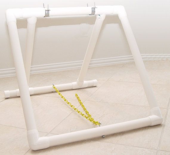 """Dog Agility Teeter Base - Board NOT Included.  Made from 1 1/4"""" Furniture Grade PVC.  Great for training!"""