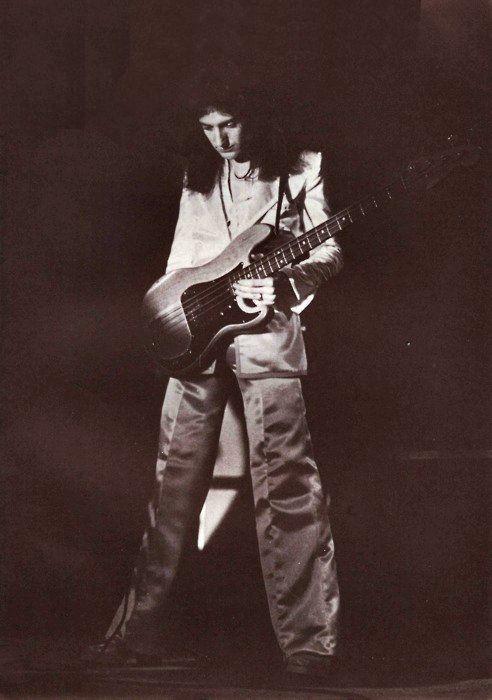 John Deacon, 1975.