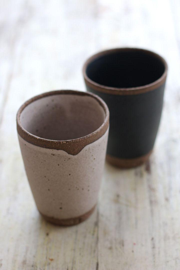 Stoneware vessels by Elke Lucas Ceramics