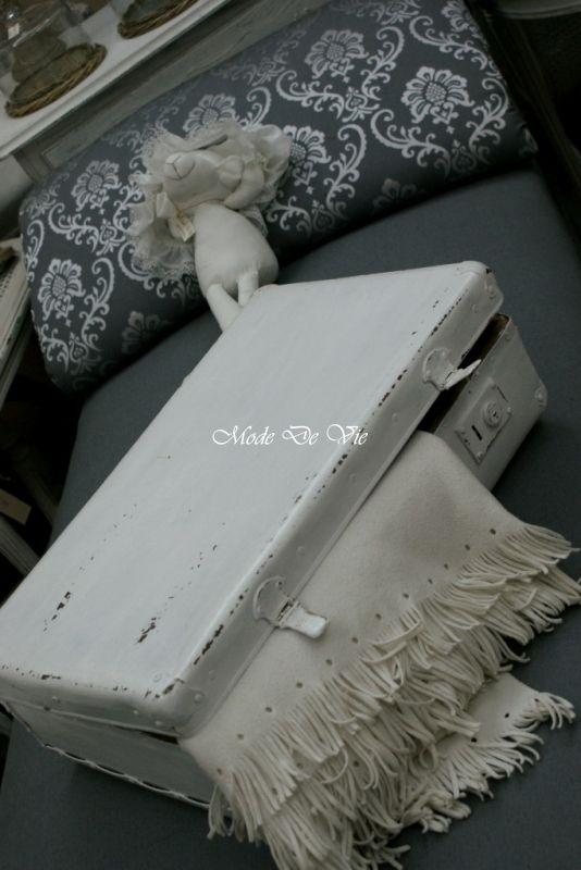 Wyprzedaż -Leżanka w szarościach - Nasze meble - Nasza galeria - Mode De Vie