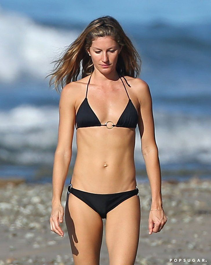 Pin for Later: Gisele Bündchen Shows Off Her Backside in Barely There Bikini Bottoms