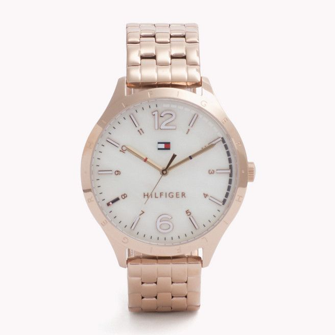 Classic rose golden Tommy watch
