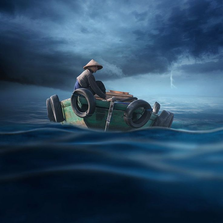 The Fearless Of Troubled Waters - Carasdesign.com | World of Realistic Composition
