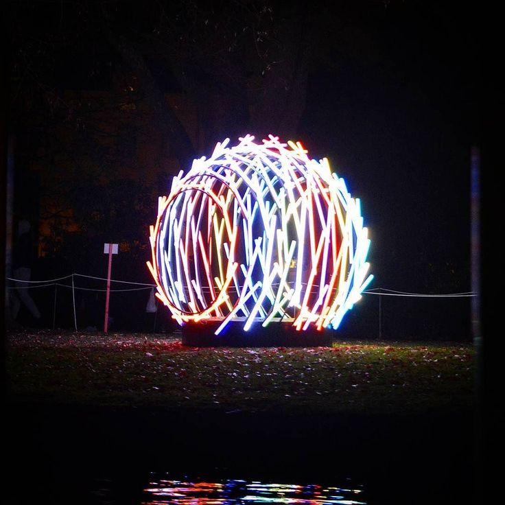 Amsterdam Light Festival: Nest by Vikas Patil & Santosh Gujar.