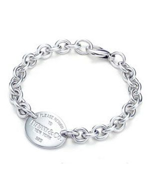 Tiffany  Co Outlet Return to Oval Tag Bracelet