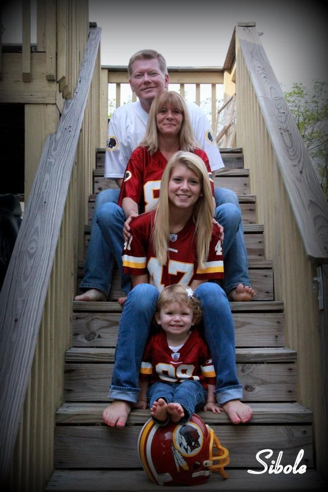 Sports Team Family portraits. Well be doing this one day! USC of course. ;)