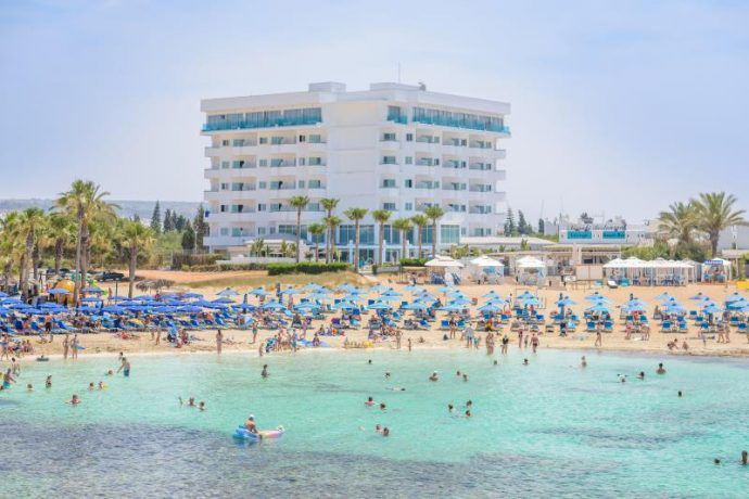 Tasia Maris Sands, Ayia Napa, Cyprus - Hotelandtennis.com