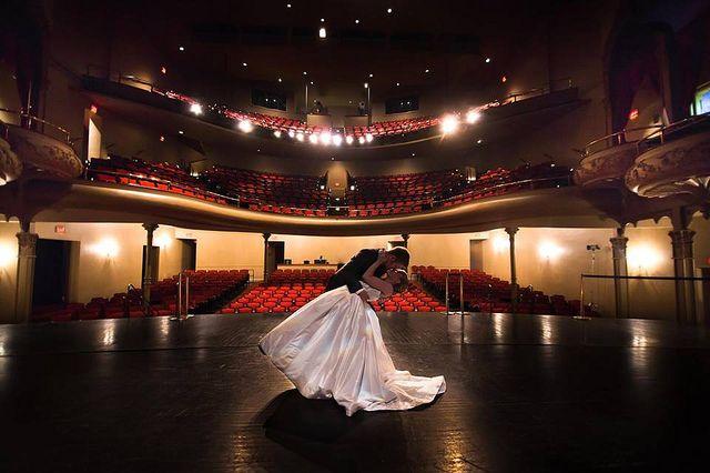 My favorite photo from our wedding! Crossen Wedding. Lexington Opera House. Theatre Wedding. Ginger Snaps Photo/Video