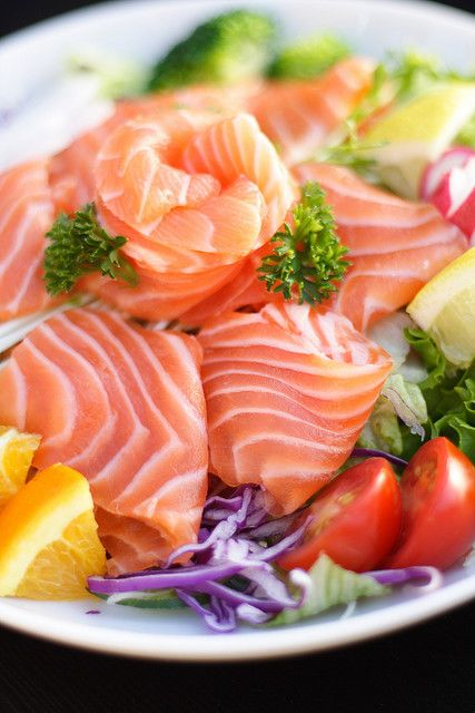 Best 25 raw salmon ideas on pinterest recipes with ono fish plate of raw salmon ccuart Gallery