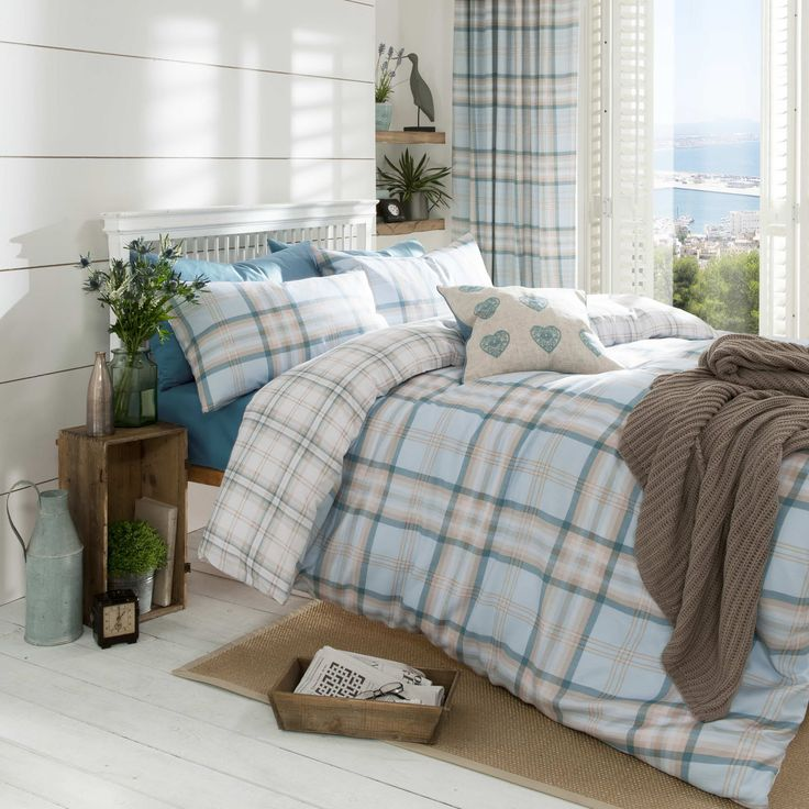 Catherine Lansfield Kelso Duvet Cover Set in Duck Egg – Next Day Delivery Catherine Lansfield Kelso Duvet Cover Set in Duck Egg from WorldStores: Everything For The Home