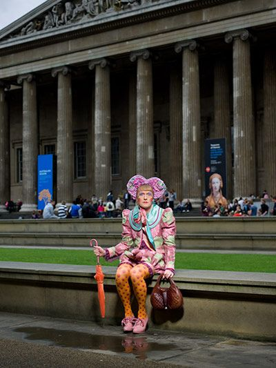 Grayson Perry long cherished an ambition to show his own art – his own 'civilisation', as he calls it – alongside the great civilisations of the world, but little dreamed the British Museum would agree to his proposal