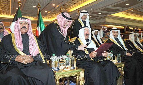IndiansinKuwait.com - His Highness Amir officially inaugurates Kuwait's Jaber Al-Ahmad Stadium