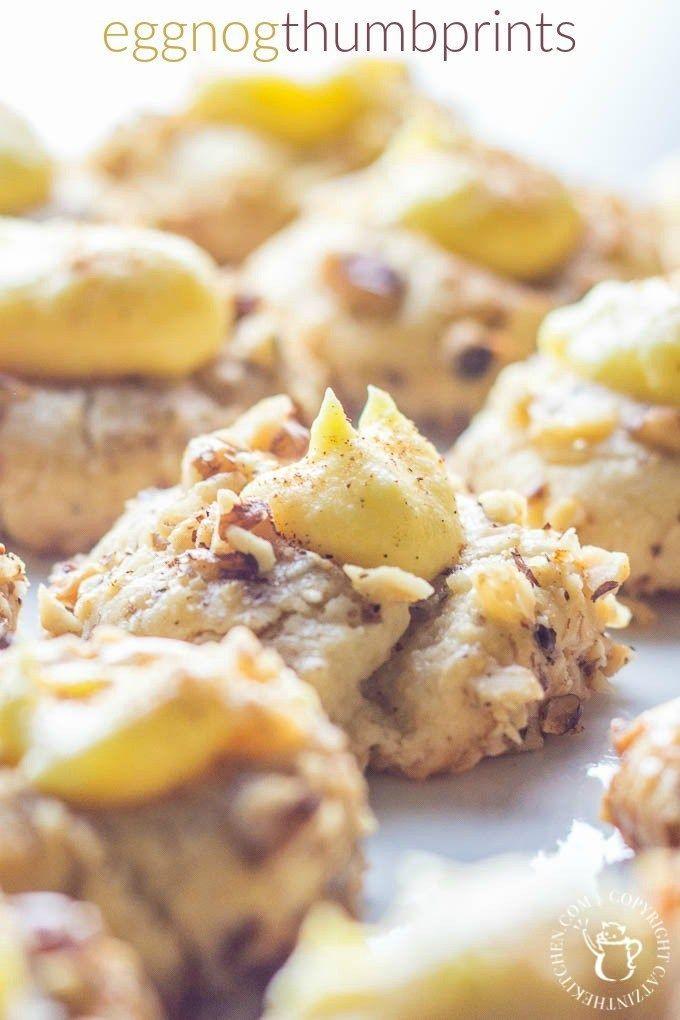 Eggnog Thumbprints | Club 31 Women | club31women.com | #Christmas #Cookies #Eggnog