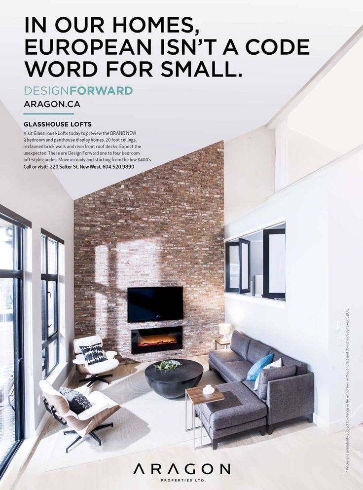 Glasshouse Lofts Ad By Aragon Properties #graphicdesign #design #ad  #advertisement #marketing