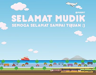 "Check out new work on my @Behance portfolio: ""Selamat Mudik"" http://on.be.net/1IMDrSK"