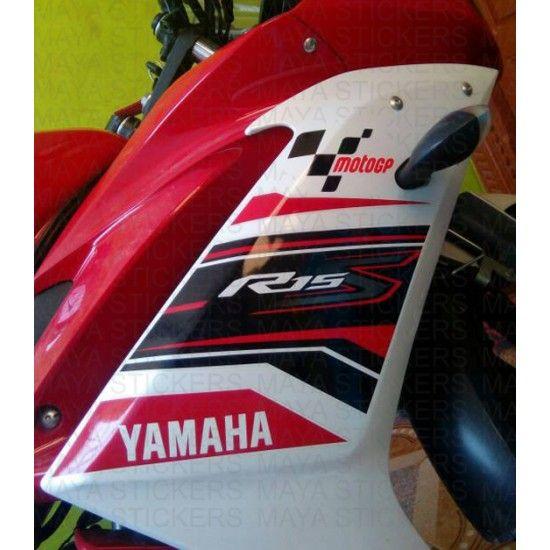 MotoGP logo stickers for bikes | yamaha r15 stickering
