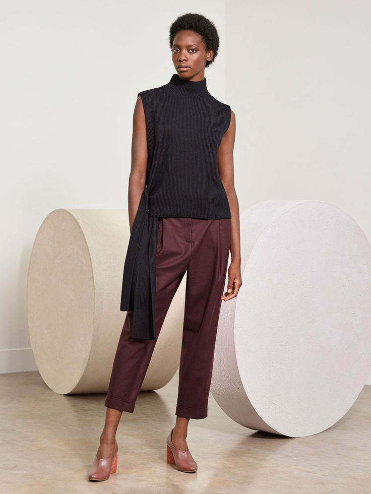Soft tailoring and easy layers in tactile qualities; relaxed definition for autumn wardrobes