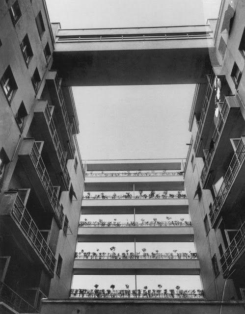 """Aria Luce sur Twitter : """"L'importanza del Vuoto Casa Rustici Milano 1933 - 1935 Giuseppe Terragni e Pietro Lingeri https://t.co/SRYql4D7hd"""""""