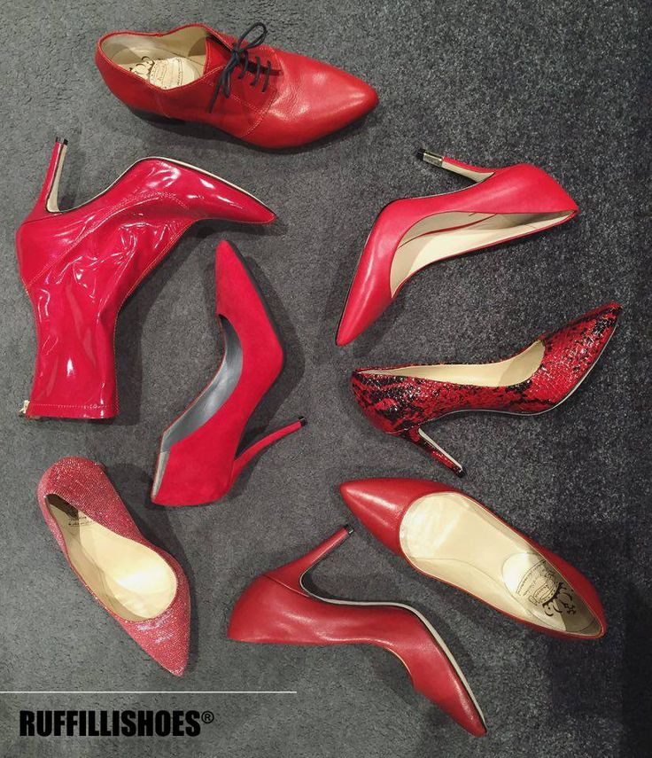 Red passion  www.ruffillishoes.com