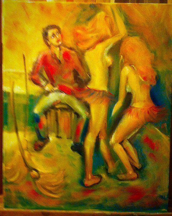 Modern art  oil painting  Original painting    by ArTvale on Etsy