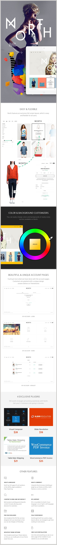 North | E-Commerce Theme