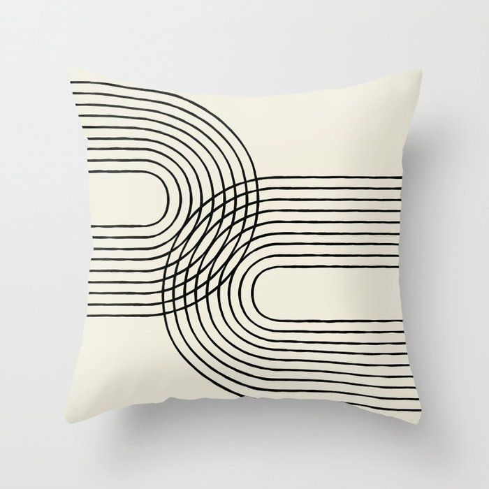 Buy Arch Duo 2 Mid Century Modern Throw Pillow By Moonlightprint Worldwide Shipping Available At Society In 2020 Modern Throw Pillows Midcentury Throw Pillows Pillows