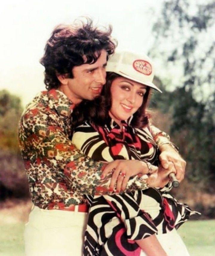 Hema Malini with Shashi Kapoor in Trishul | Vintage bollywood, Hema malini,  Shashi kapoor