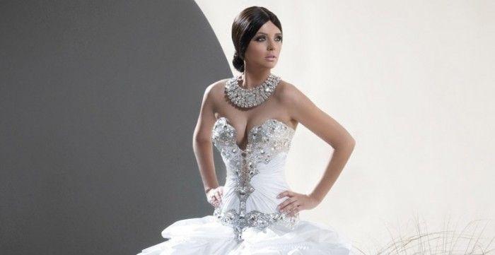Роскошь камней и стразов: свадебное платье недели по версии Ivetta