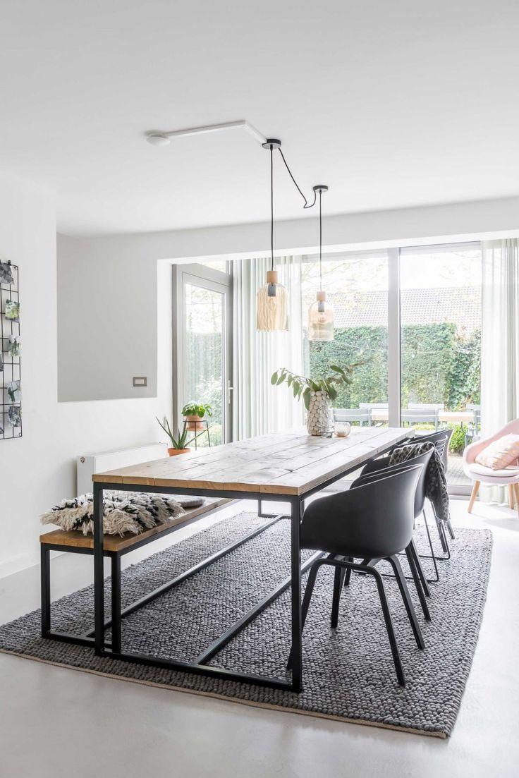 Eetkamer | dinner room | vtwonen 06-2017 | Fotografie & styling Jonah Samyn