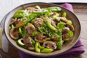 Sauté de légumes au sésame