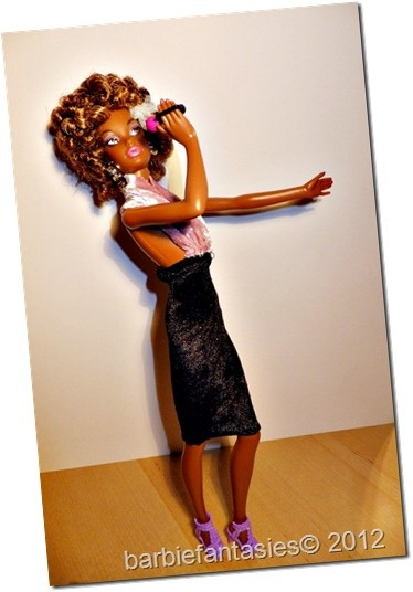 Whitney Houston Doll