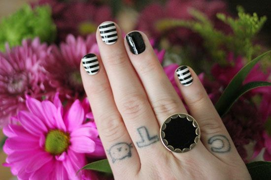 Lovely black and white | The Dainty Squid
