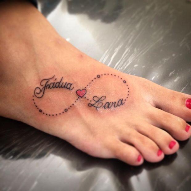 Bildergebnis für tattoo infinity herz