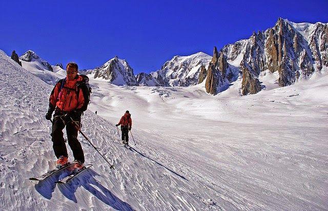 Горнолыжный курорт Шамони-Монблан, Франция / Shamoni-Mont Blanc ski resort, France