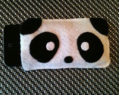 Cute felt piggy cell phone case. $6.99, via Etsy.