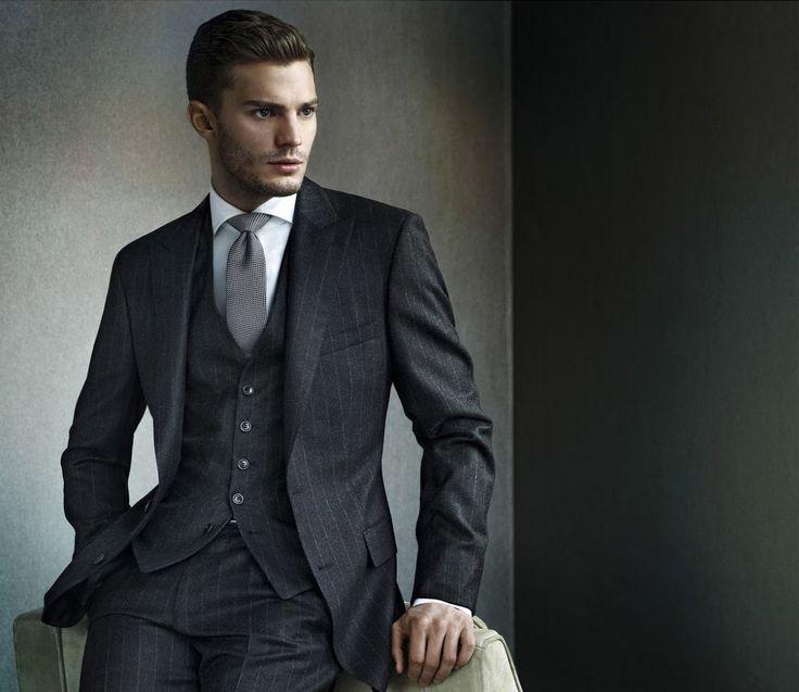 Hugo Boss Three Piece Pinstripe Suit Menswear A Life