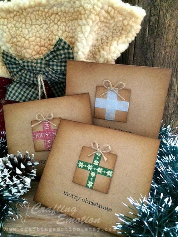 Handmade Christmas Cards Pack Christmas Cards by Crafting Emotion $11.50AUD