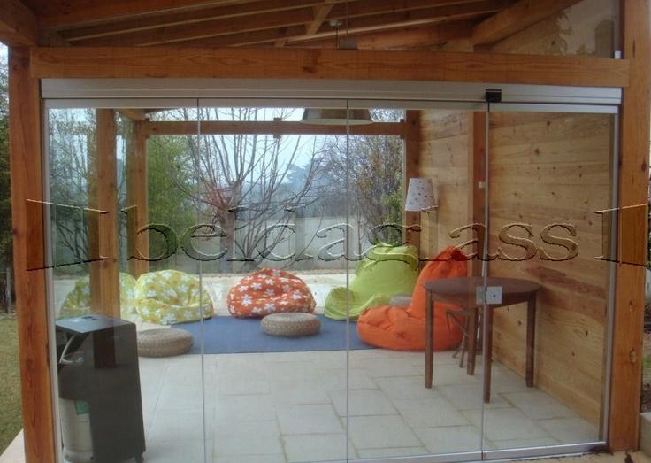 209 best images about reformas hogar on pinterest - Cerramiento de madera ...