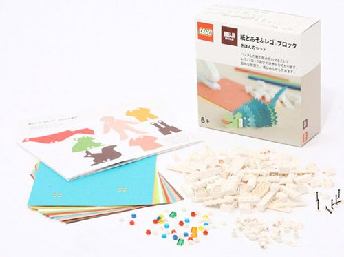Craft Paper and Punch Lego From Muji