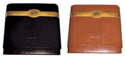 8 Finger Leather Cigar Traveler Case