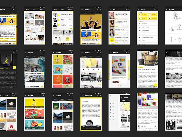 Material UI Kit: BiGood Design by Xing_Carol