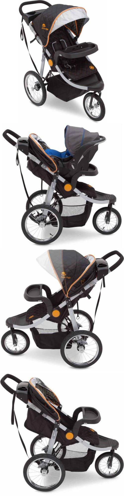 baby kid stuff: Jogging Stroller Jeep All Terrain Push Chair Pram Baby Child Travel Crib New BUY IT NOW ONLY: $165.84