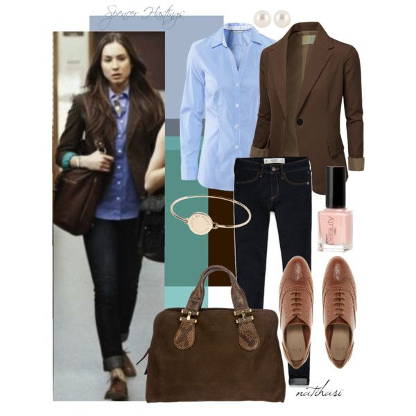 """""""Spencer Hastings Pll inspired Fall Outfit"""" by natihasi-tv-edition on Polyvore"""