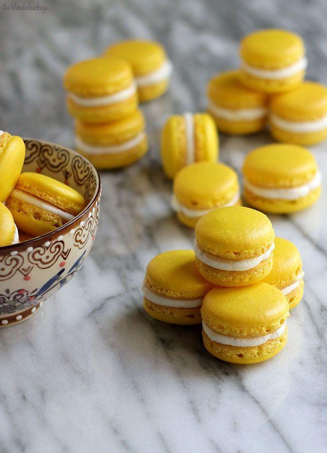 Macarons triple citrons ingr dients pour 30 macarons for Decoration zeste de citron