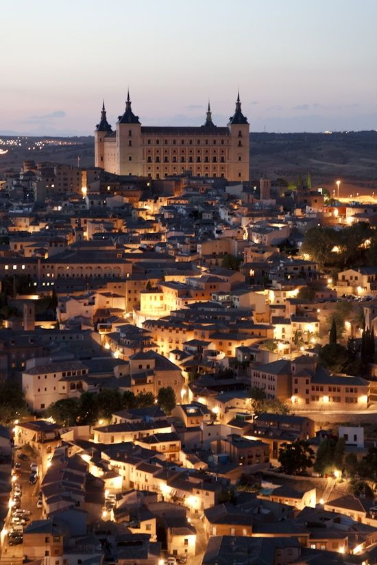 Toledo, Spain. Yep, I was there today
