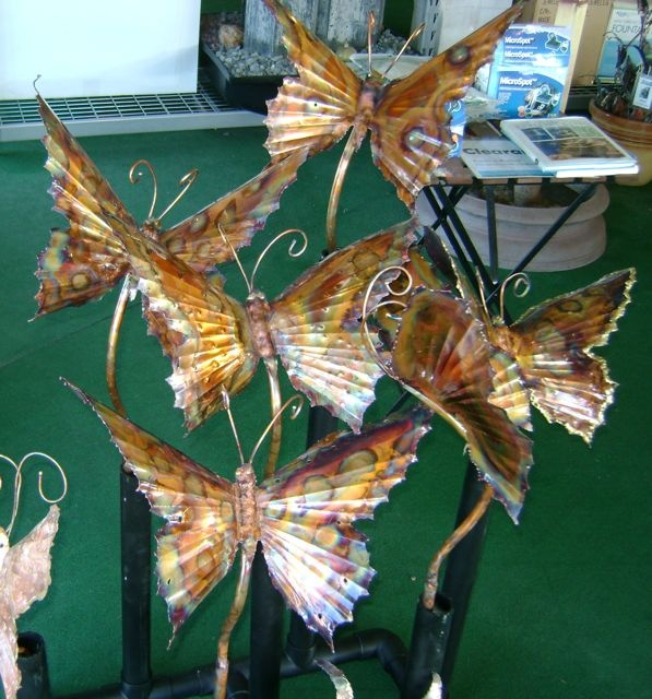 Garden Art Plus: 161 Best Metal Designs And Copper Fountains Art Images On