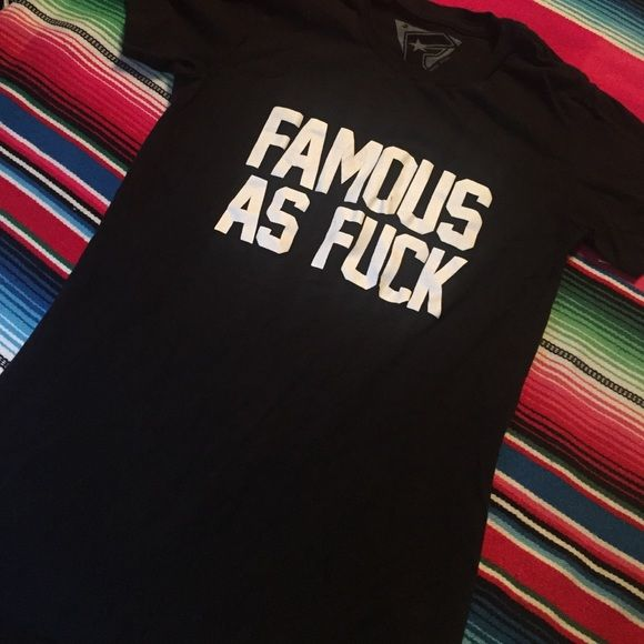 Famous stars n straps t shirt Famous stars and straps t shirt Tops Tees - Short Sleeve