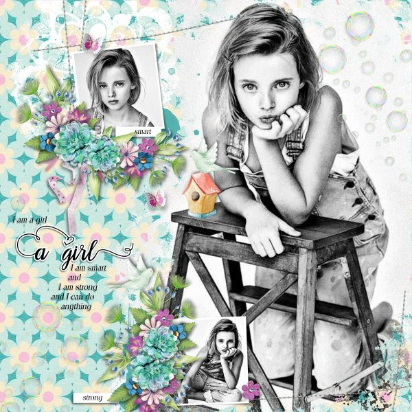Kit Emotional Spring by Valentina Creations. Template A Little Bit Arty #8 by Heartstrings Scrap Art. Photo per kind favour of Anastasia Serdyukova Photography.